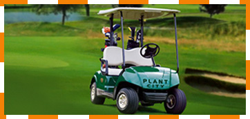 TN Golf Cars 6 Passeneger Gas Yamaha Golf Car  Sold